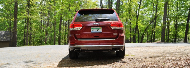 Car-Revs-Daily.com Road Test Review - 2014 Jeep Grand Cherokee Summit V6 20