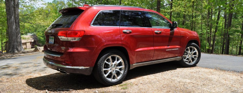 Car-Revs-Daily.com Road Test Review - 2014 Jeep Grand Cherokee Summit V6 23