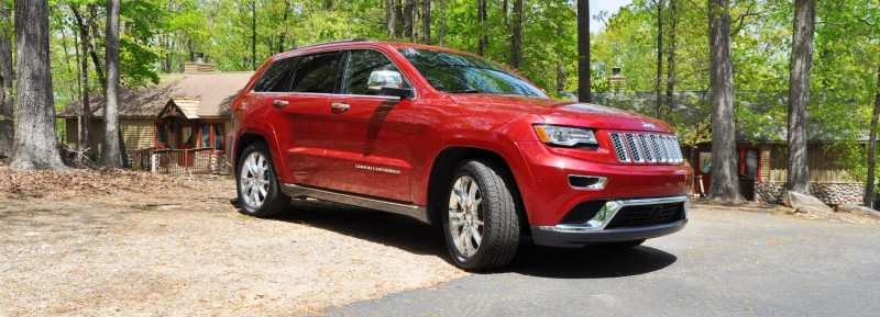Car-Revs-Daily.com Road Test Review - 2014 Jeep Grand Cherokee Summit V6 28