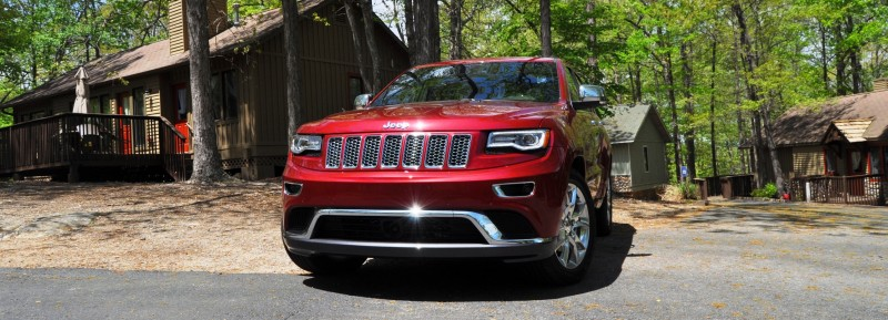 Car-Revs-Daily.com Road Test Review - 2014 Jeep Grand Cherokee Summit V6 5
