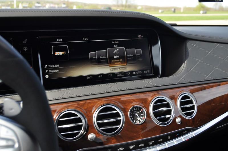 Car-Revs-Daily.com Road Test Reviews the 2015 Mercedes-Benz S63 AMG 11