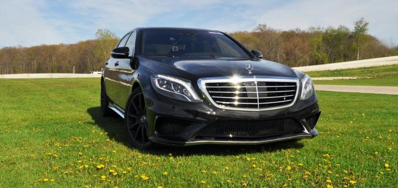 Car-Revs-Daily.com Road Test Reviews the 2015 Mercedes-Benz S63 AMG 21