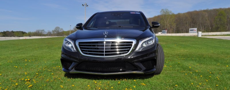 Car-Revs-Daily.com Road Test Reviews the 2015 Mercedes-Benz S63 AMG 85