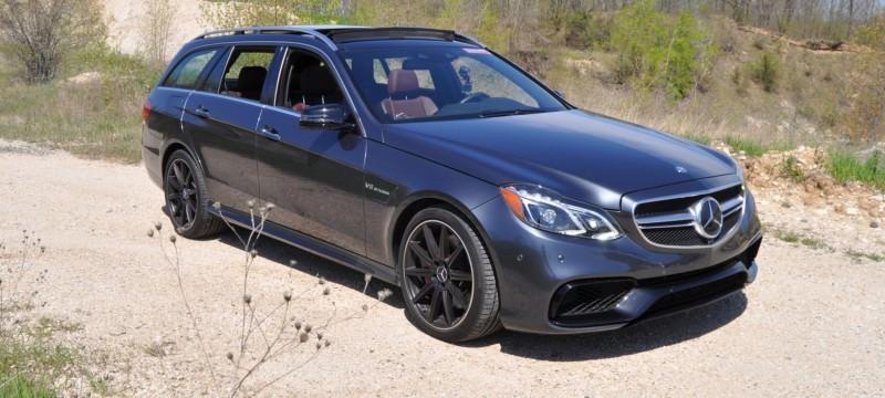 Car-Revs-Daily.com Road Tests the 2014 Mercedes-Benz E63 AMG S-Model Estate 10