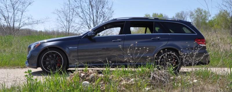 Car-Revs-Daily.com Road Tests the 2014 Mercedes-Benz E63 AMG S-Model Estate 30