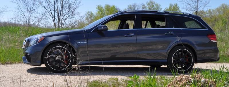 Car-Revs-Daily.com Road Tests the 2014 Mercedes-Benz E63 AMG S-Model Estate 31