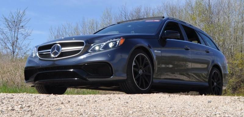 Car-Revs-Daily.com Road Tests the 2014 Mercedes-Benz E63 AMG S-Model Estate 35