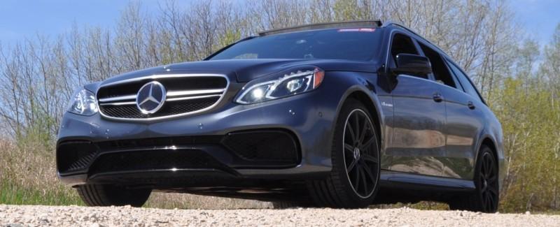 Car-Revs-Daily.com Road Tests the 2014 Mercedes-Benz E63 AMG S-Model Estate 37