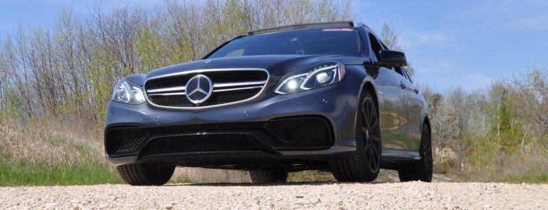 Car-Revs-Daily.com Road Tests the 2014 Mercedes-Benz E63 AMG S-Model Estate 38