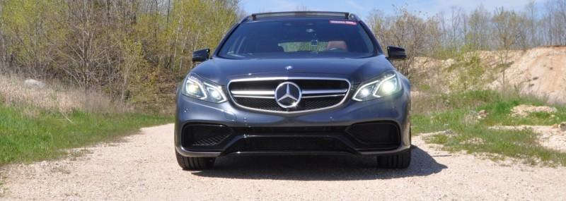 Car-Revs-Daily.com Road Tests the 2014 Mercedes-Benz E63 AMG S-Model Estate 40