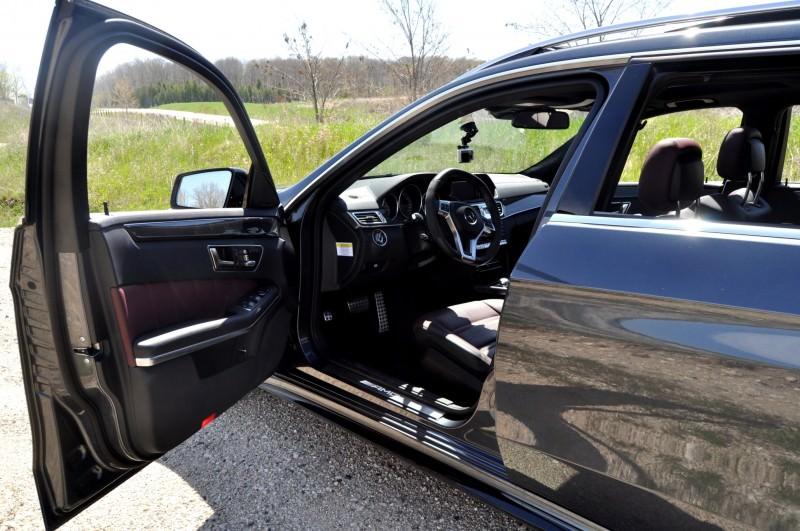Car-Revs-Daily.com Road Tests the 2014 Mercedes-Benz E63 AMG S-Model Estate 67