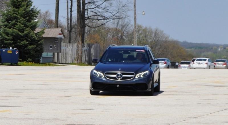 Car-Revs-Daily.com Road Tests the 2014 Mercedes-Benz E63 AMG S-Model Estate 79
