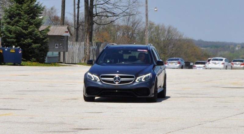 Car-Revs-Daily.com Road Tests the 2014 Mercedes-Benz E63 AMG S-Model Estate 80