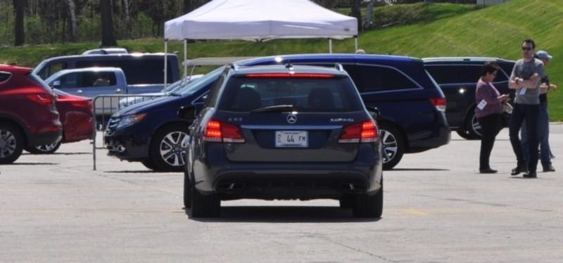 Car-Revs-Daily.com Road Tests the 2014 Mercedes-Benz E63 AMG S-Model Estate 92