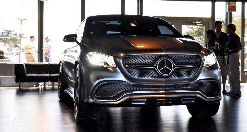 Car-Revs-Daily.com USA Debut in 80 New Photos - 2014 Mercedes-Benz Concept Coupé SUV  2