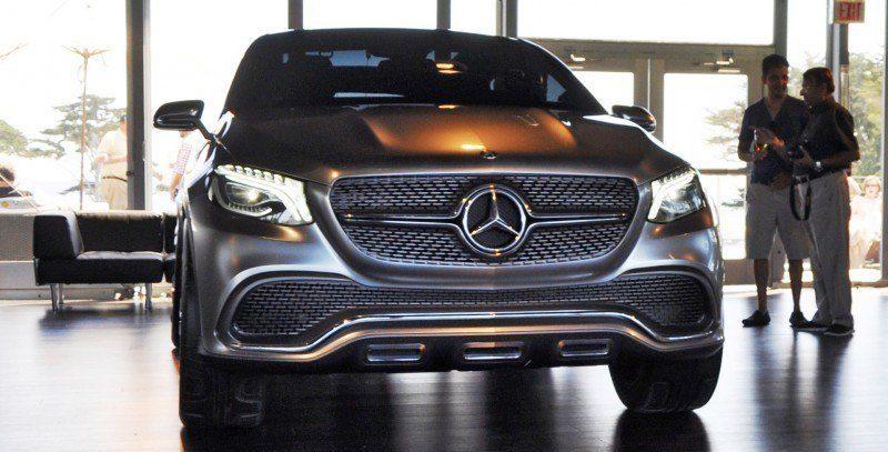 Car-Revs-Daily.com USA Debut in 80 New Photos - 2014 Mercedes-Benz Concept Coupé SUV  4