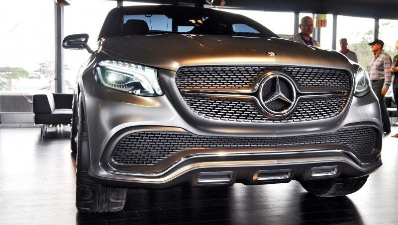Car-Revs-Daily.com USA Debut in 80 New Photos - 2014 Mercedes-Benz Concept Coupé SUV  49