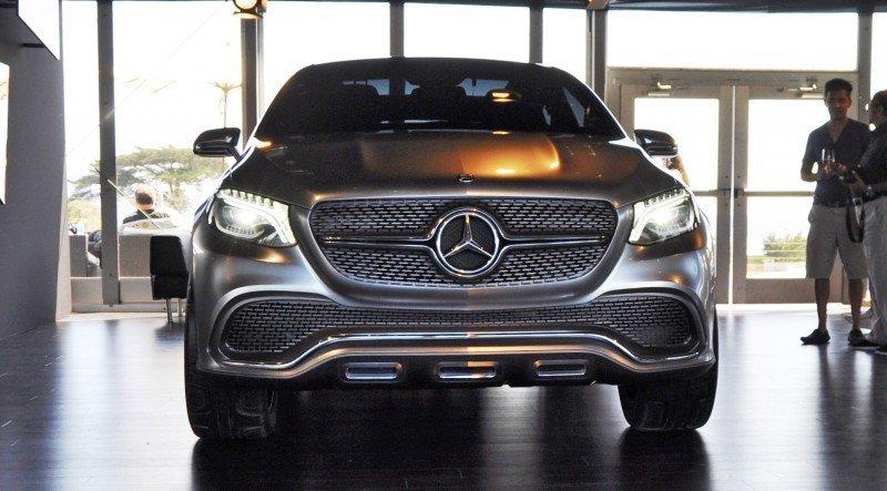 Car-Revs-Daily.com USA Debut in 80 New Photos - 2014 Mercedes-Benz Concept Coupé SUV  7