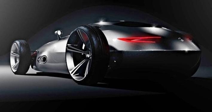 CarRevsDaily.com - Phil Berger Envisions Future Silver Arrow Racer 6