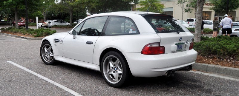 Charleston Cars & Coffee Gallery - 1999 BMW M Coupe - Vunder-BreadVan in White 13