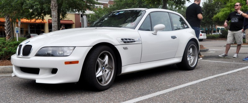 Charleston Cars & Coffee Gallery - 1999 BMW M Coupe - Vunder-BreadVan in White 7