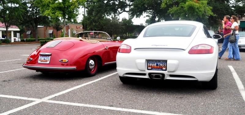 Charleston Cars and Coffee - 1955 Porsche 356 1500S Speedster 1