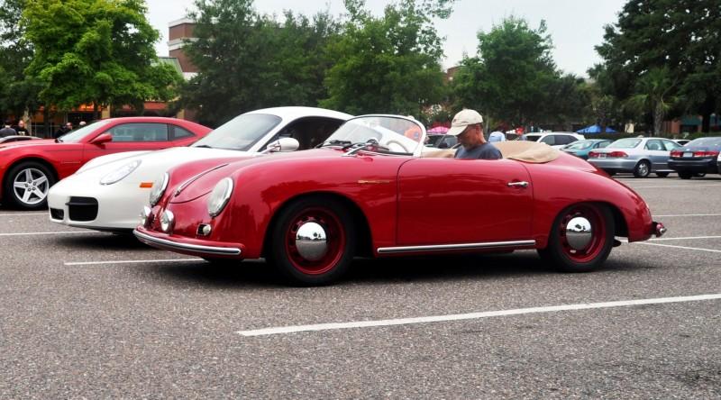 Charleston Cars and Coffee - 1955 Porsche 356 1500S Speedster 11