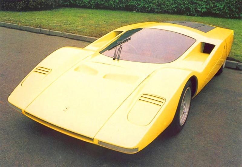 Concept Flashback - 1969 Ferrari 512 S Coupe Speciale by Pininfarina in Leopard Onesite at Granite Mine 16