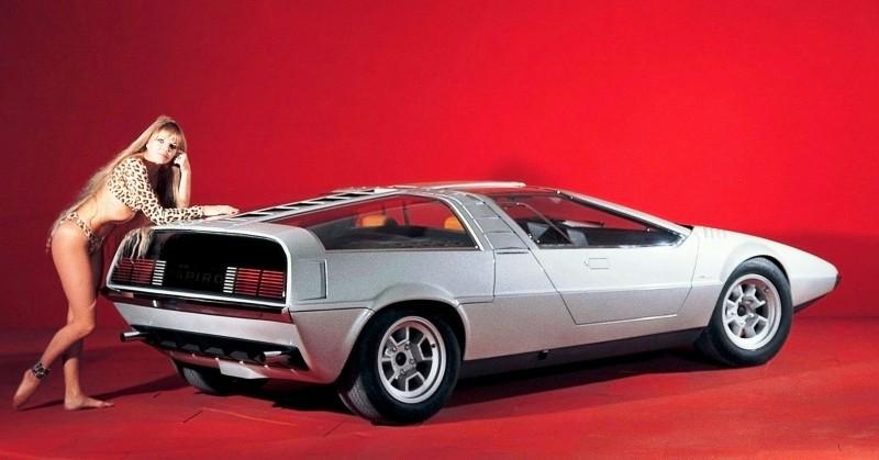 Concept Flashback - 1970 Volkswagen Porsche Tapiro by ItalDesign 2