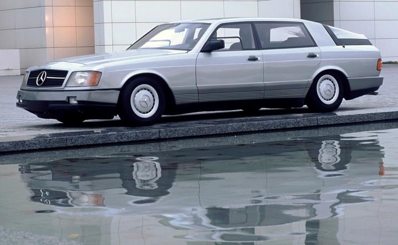 Concept Flashback - 1978 Mercedes-Benz Auto 2000 Concept Is Fastback Aero Limo14