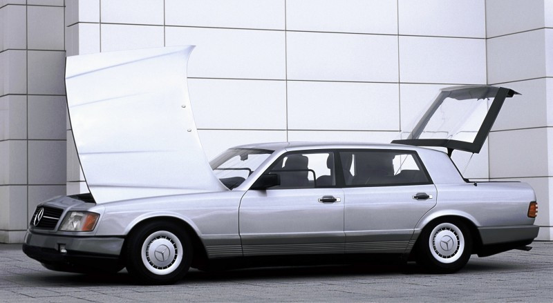 Concept Flashback - 1978 Mercedes-Benz Auto 2000 Concept Is Fastback Aero Limo5