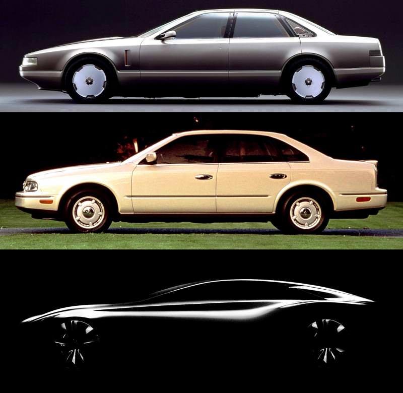 Concept Flashback - 1985 Nissan Cue-X Inspired Original Infiniti Q45 Flagship and Future Q80 222-vert