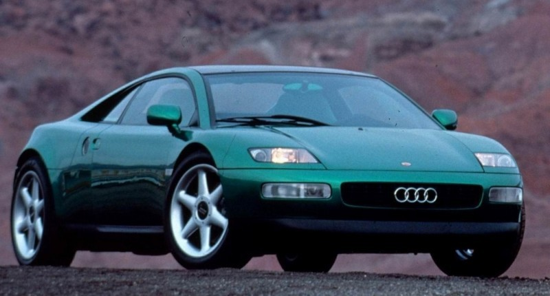 Concept Flashback - 1991 Audi Quattro Spyder Provides Clean, Modern Design Roadmap for Struggling Brand 4