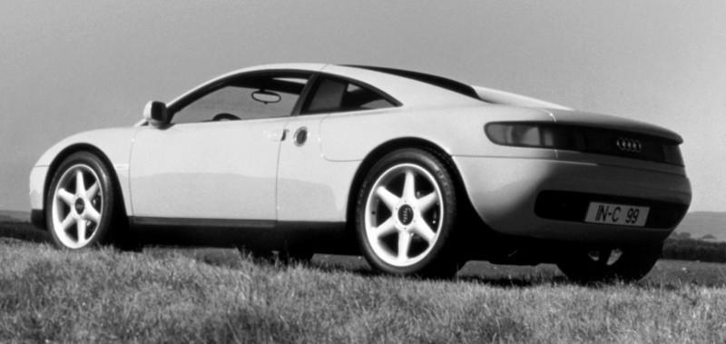 Concept Flashback - 1991 Audi Quattro Spyder Provides Clean, Modern Design Roadmap for Struggling Brand 8