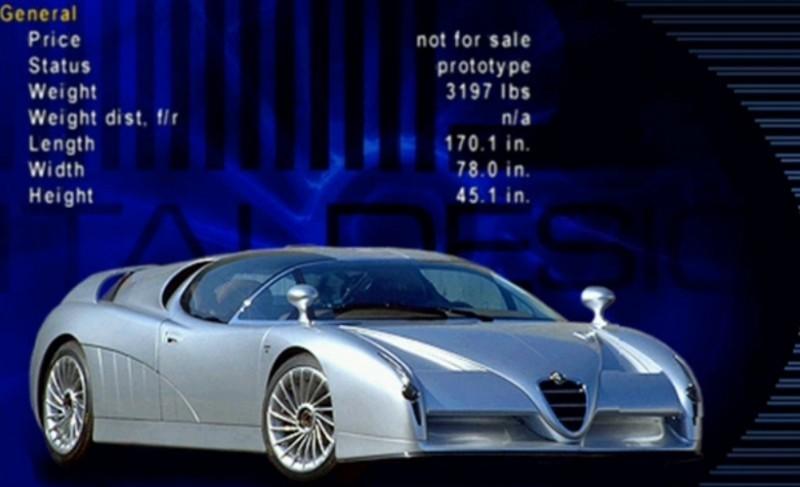 Concept Flashback - 1997 Alfa Romeo Scighera is Mid-Engine Twin-Turbo V6 Hypercar 10