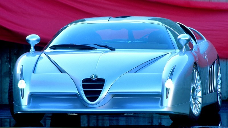 Concept Flashback - 1997 Alfa Romeo Scighera is Mid-Engine Twin-Turbo V6 Hypercar 17