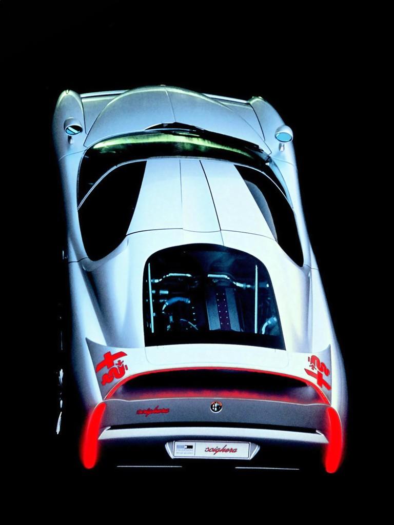 Concept Flashback - 1997 Alfa Romeo Scighera is Mid-Engine Twin-Turbo V6 Hypercar 24