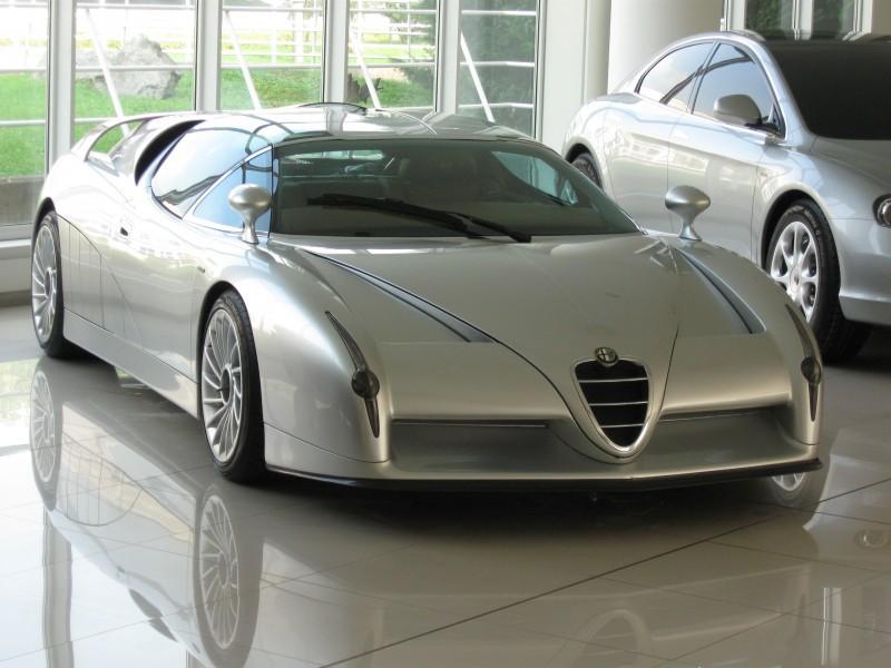 Concept Flashback - 1997 Alfa Romeo Scighera is Mid-Engine Twin-Turbo V6 Hypercar 32