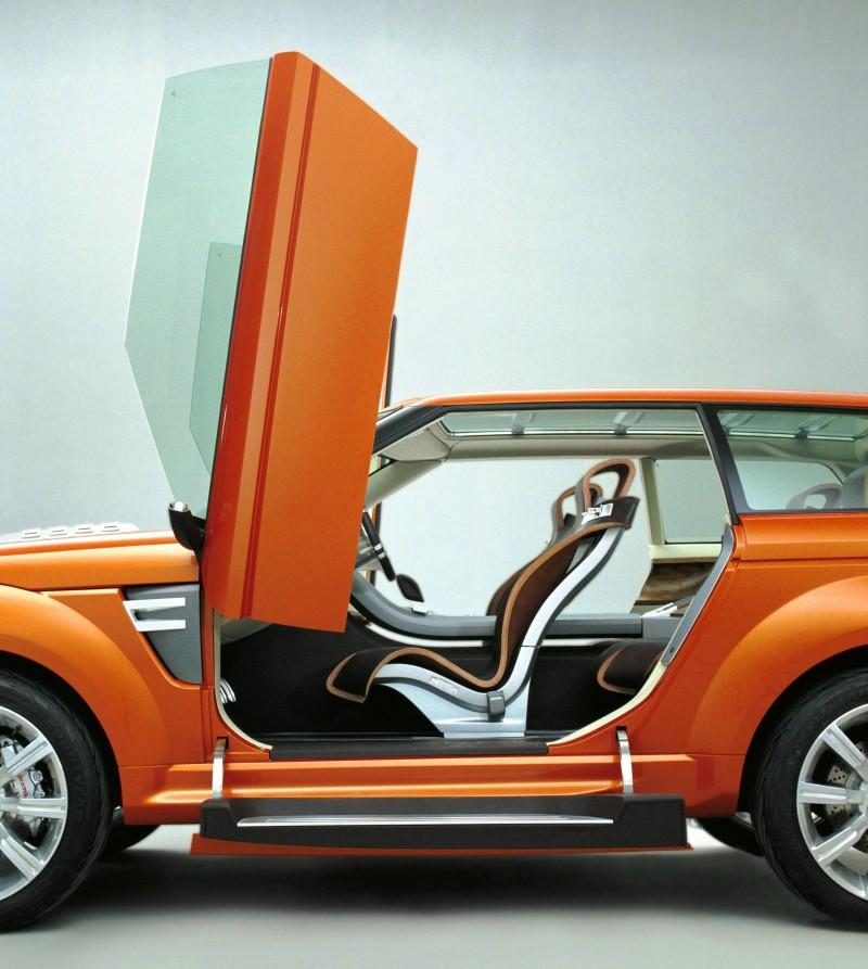 Concept Flashback - 2004 RANGE STORMER Previews High-Design SUV Supercars 8