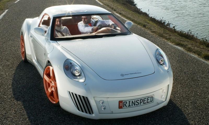 Concept Flashback - 2006 RINSPEED ZaZen is Porsche 911 with Clear Bubble Hardtop 4