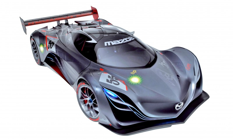 Concept Flashback - 2008 Mazda Furai is 450HP Rotary LMP2 Car That Met Two Tragic Ends 1