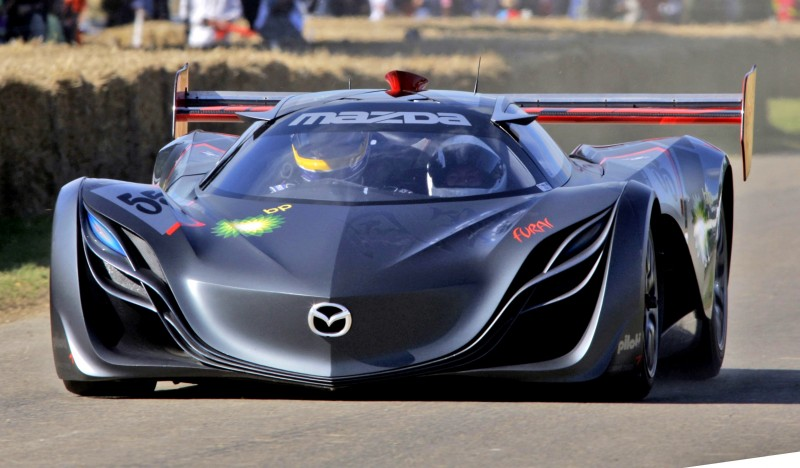 Concept Flashback - 2008 Mazda Furai is 450HP Rotary LMP2 Car That Met Two Tragic Ends 15
