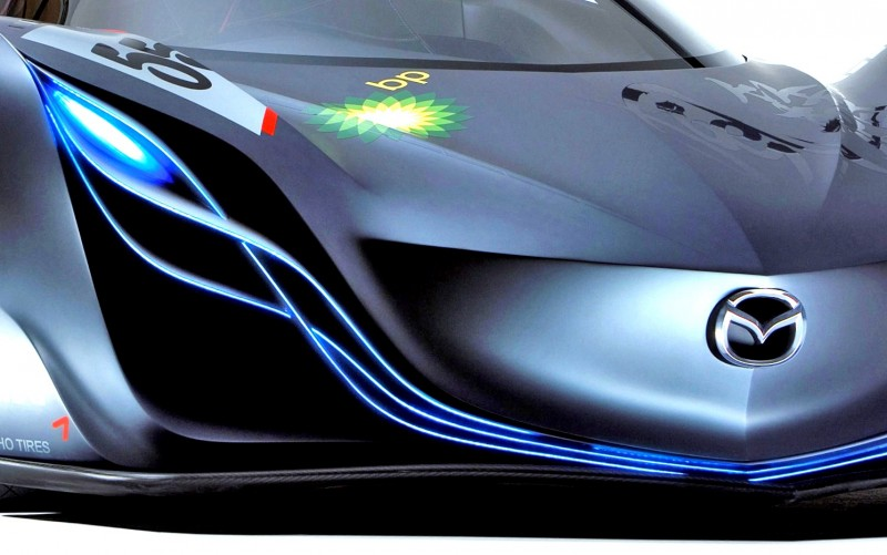 Concept Flashback - 2008 Mazda Furai is 450HP Rotary LMP2 Car That Met Two Tragic Ends 23