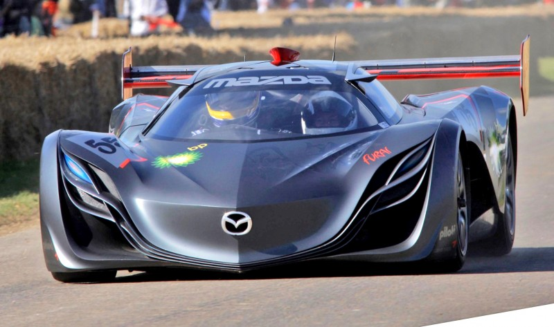 Concept Flashback - 2008 Mazda Furai is 450HP Rotary LMP2 Car That Met Two Tragic Ends 7