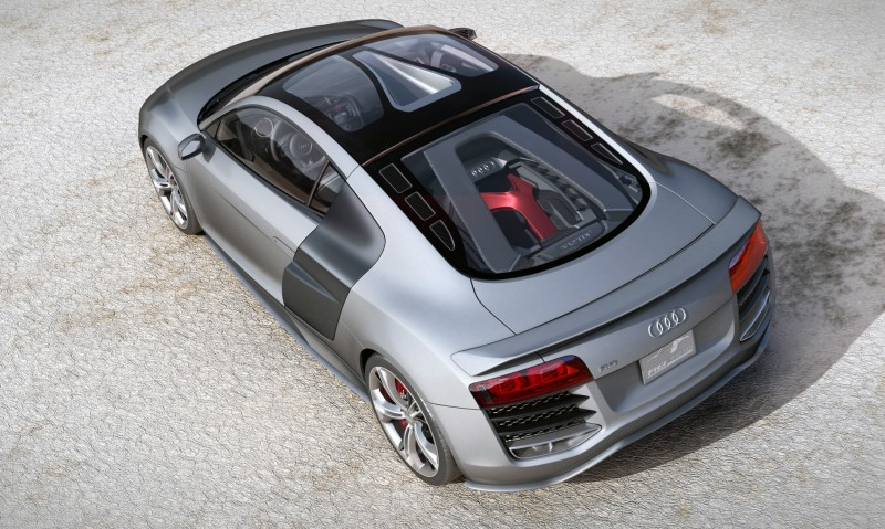 Concept Flashback - 2009 Audi R8 TDI V12 Shows Great Engineering Potential, But Limited Market 3