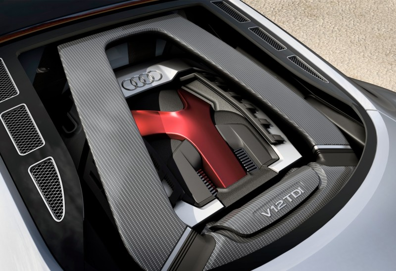 Concept Flashback - 2009 Audi R8 TDI V12 Shows Great Engineering Potential, But Limited Market 7