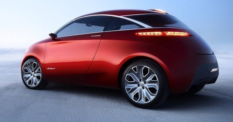 Concept Flashback - 2010 Ford Start - Supermini Previews Potential 2017 Ka 6