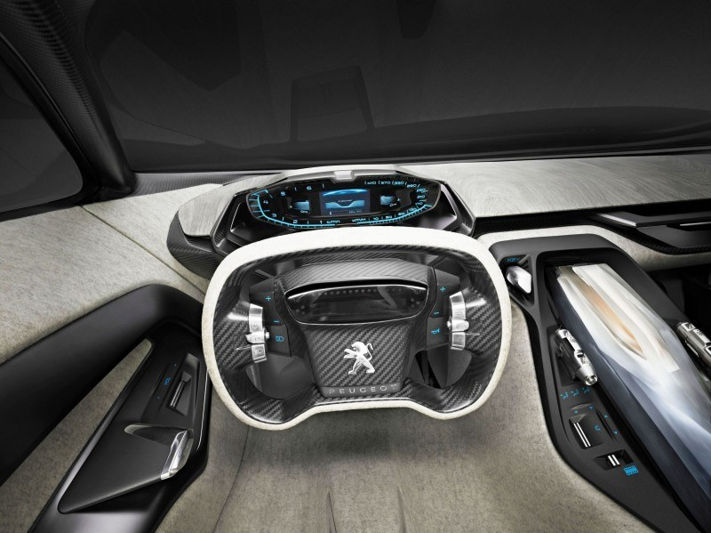 Concept Flashback - 2012 Peugeot ONYX Is Mixed-Media Hypercar Delight 14