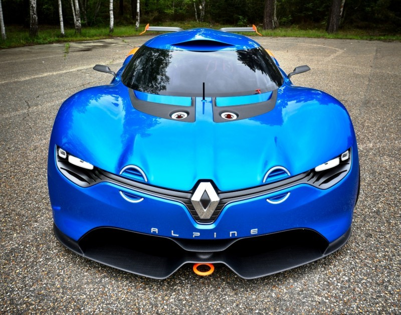 Concept Flashback - 2012 Renault Alpine A110-50 A Blend of M64 and A110 Berlinette 31