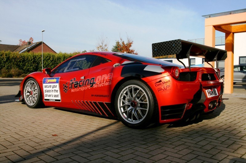 Ferrari 458 Competition by RacingOne Is Hardcore GT3 Track Attacker 10